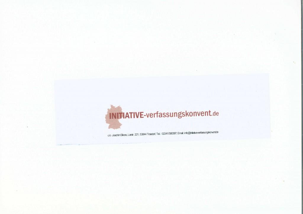Initiative Verfassungskonvent