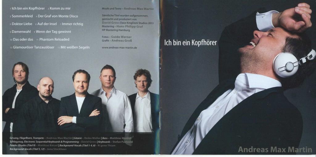 04-01-2014 Musik cover CD Ich bin ein Kopfhörer