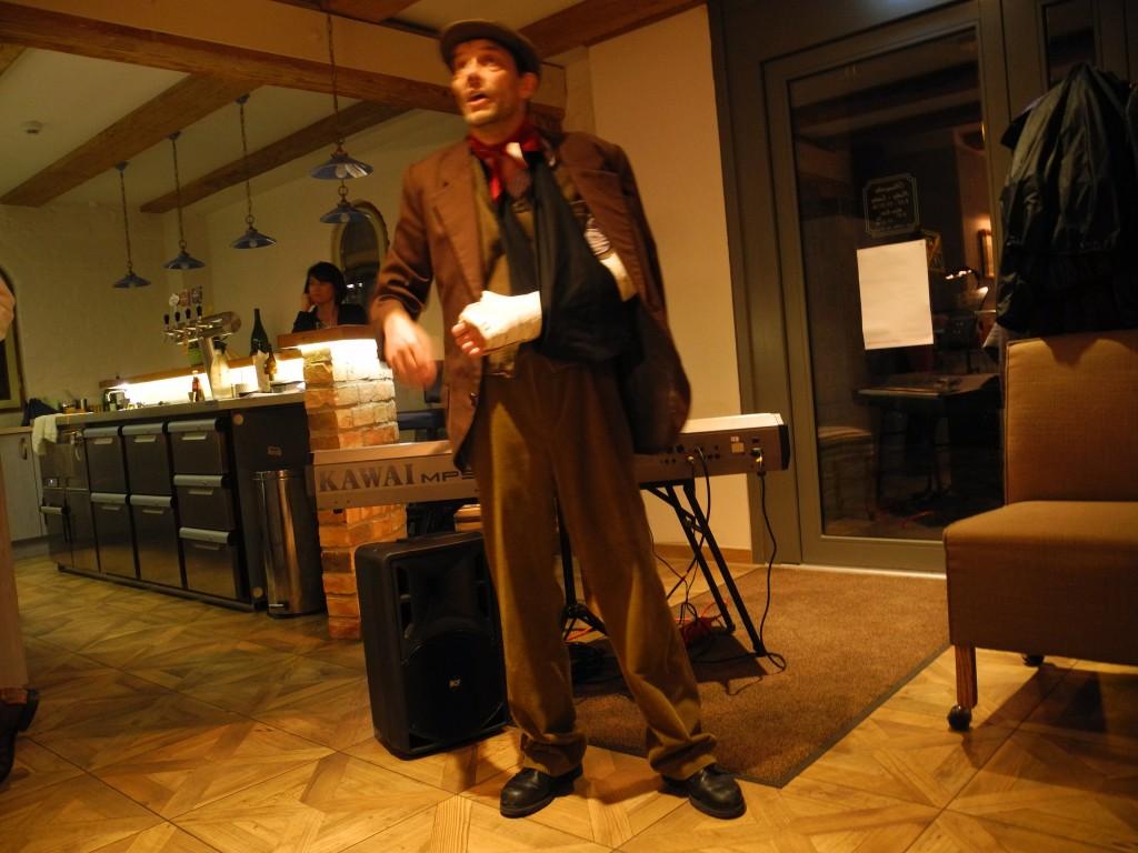 20-03-2015 Theater Tresen besoffner Herr Thomas Pötzsch